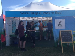 Glastonbury Stall 2015