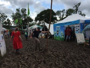 Glasto 2016 got a bit muddy