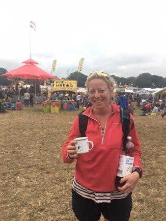 Festival mug with festival bug