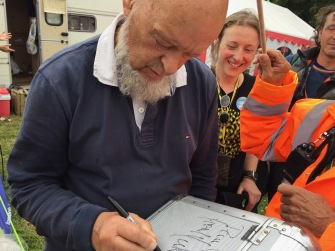 Meeting Michael Eavis